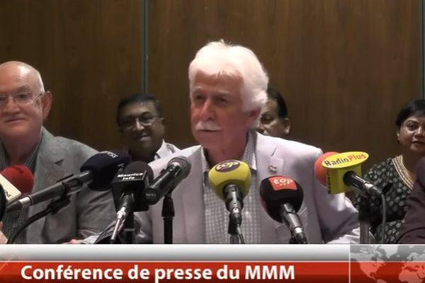 Paul Bérenger Ex-premier ministre de Maurice leadeur MMM