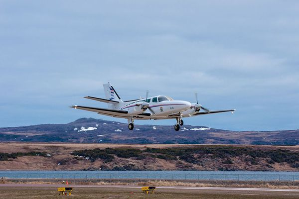 cessna decollage miquelon