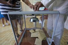Le premier tour des élections régionales et départementales à La Réunion.
