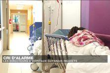 En Guyane, les hôpitaux sont asphyxiés, les places manquent.