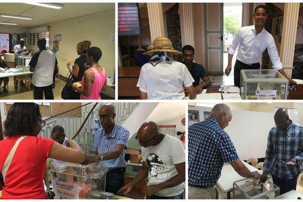 Vote présidentielle 2017 Martinique