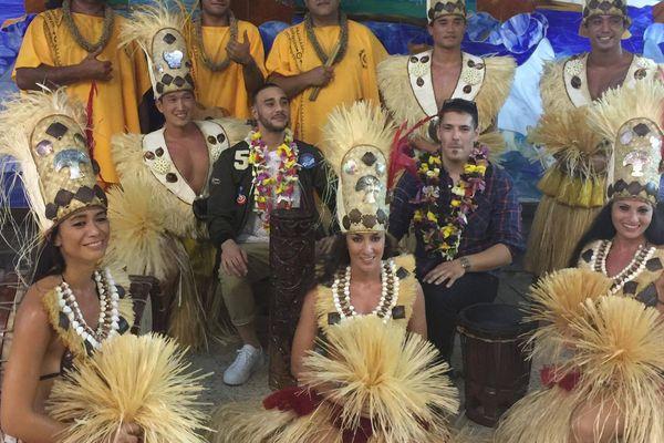 L'artiste réunionnais Isnel en concert à Tahiti