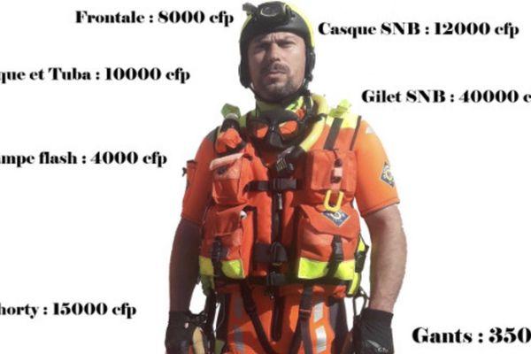 BEsoin d'équipement d ela SNSM Nouméa