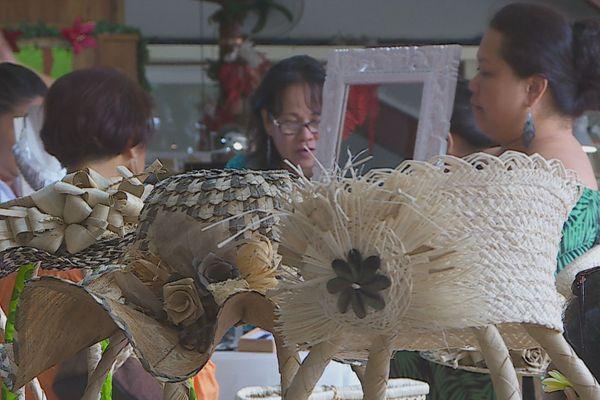 Le salon de l'artisanat d'art à l'Assemblée de Polynésie
