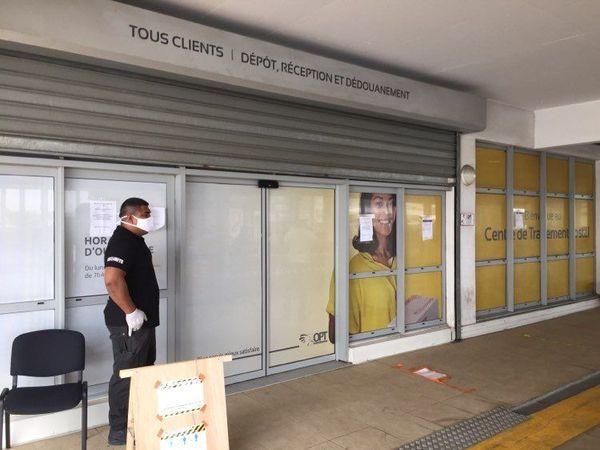 OPT centre de traitement postal coronavirus