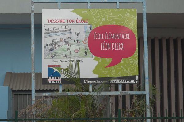 L'école Léon Dierx à Saint-Denis.