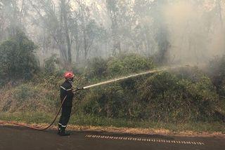 Incendie au Grand-Brûlé : plus de 2 000 hectares détruits et un feu incontrôlable
