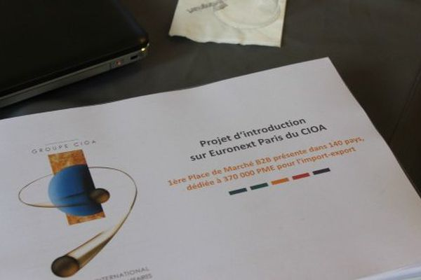 Projet d'introduction en bourse de la PME antillaise CIOA