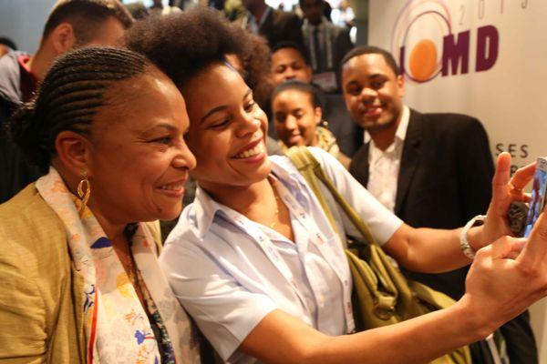 Christiane Taubira à la Journée Outre-mer Développement