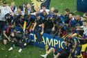 Equipe de France : La nuit de fête des Bleus champions du monde