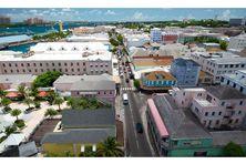 Nassau, ville capitale des Bahamas.