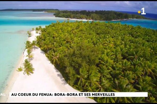 A la découverte des motu de Bora Bora
