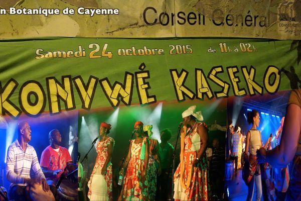 Ambiance Kaséko au jardin botanique de Cayenne