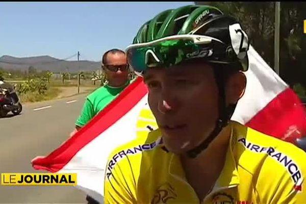 Tour cycliste de Calédonie : Taruia Krainer à une étape du sacre