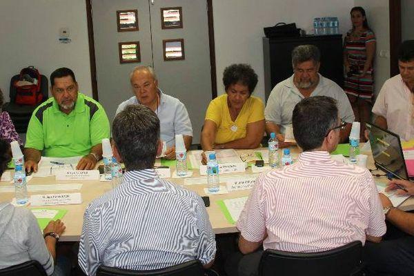 La commission des élus de la DTER