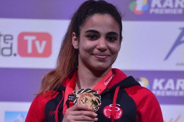 Leïla Heurtault médaillée d'or de l'Open de Rabat