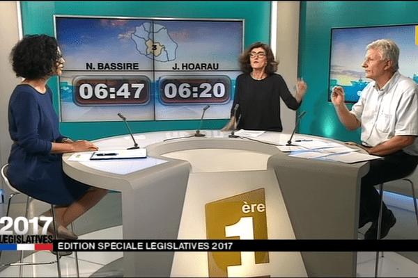 3ème circonscription : Nathalie Bassire / Jacquet Hoareau