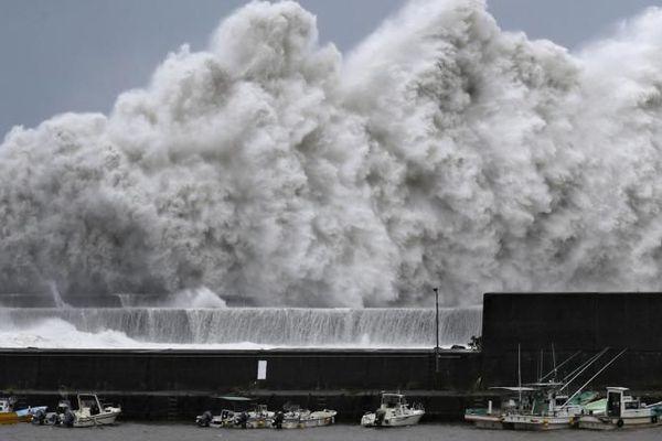 Ouragan Jebi - Japon