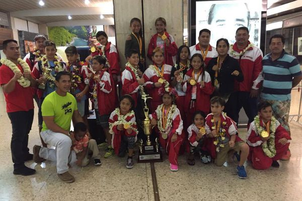 Taekwondo polynésien