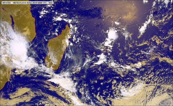 Image satellite 19 février 2018