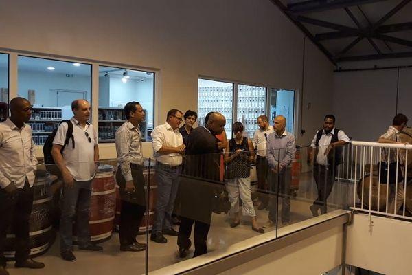 Visite de la distillerie Bologne