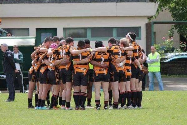 L'une des équipes de rugby de Nogaro