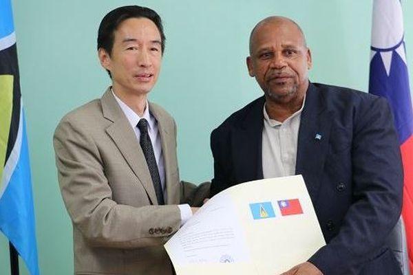 Sainte Lucie Taiwan accord