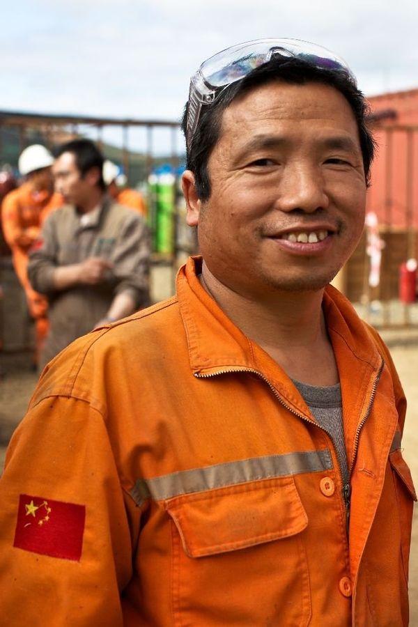 Usine nord travailleurs asiatiques