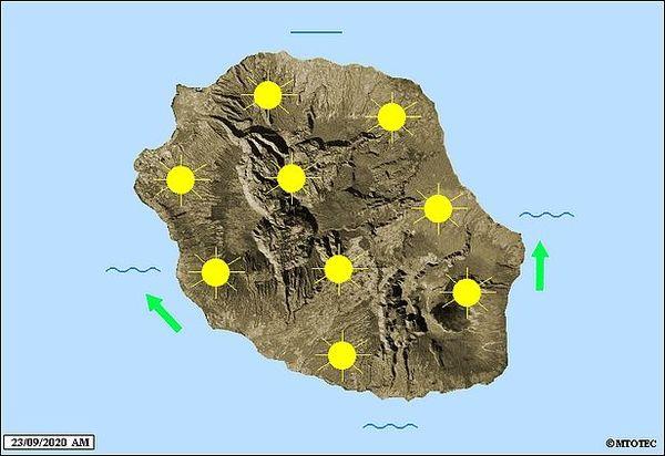 Carte météo 23 09 2020