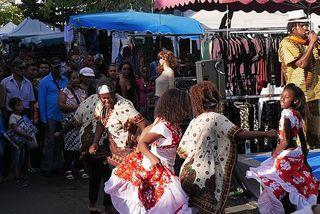 Danse Maloya dans la rue