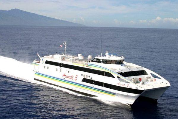 Demain, pas de vente d'alcool sur les bateaux Aremiti