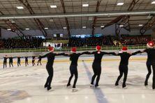 Le club de patinage artistique de Saint-Pierre et Miquelon organisait cette année un gala de Noël.
