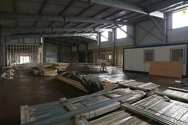 Nouveau hangar sous douane
