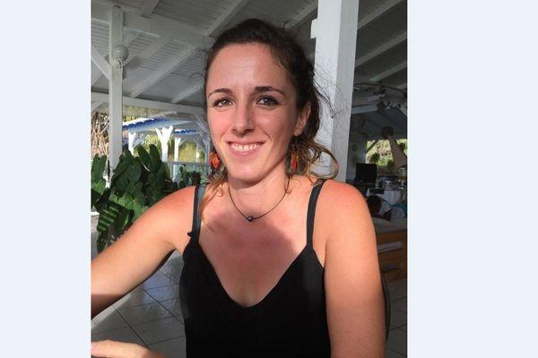 Océane Beaufort, coordinatrice du Réseau Requins des Antilles françaises