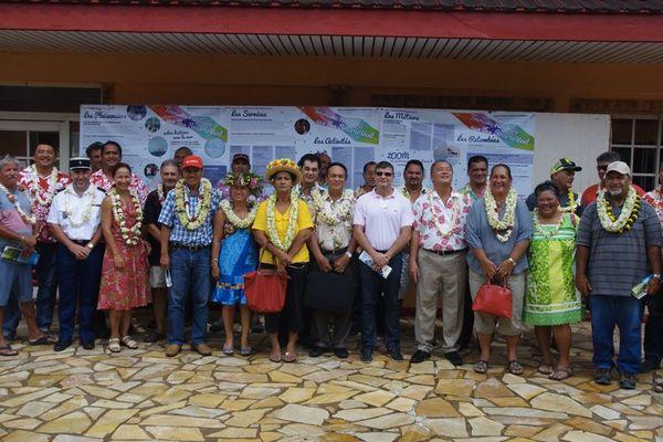 Inauguration de structures dédiés aux tourisme nautique aux ILSV
