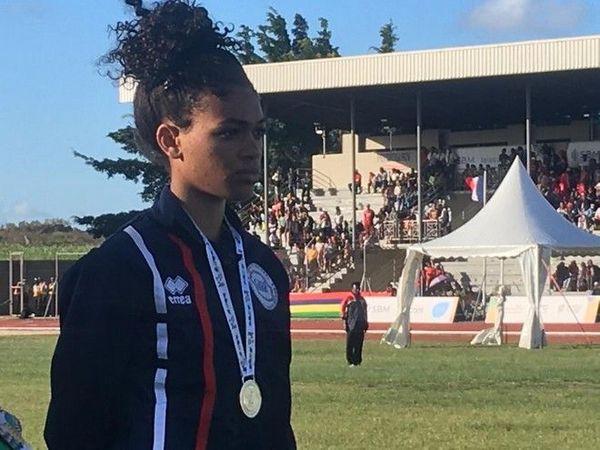 JIOI 2019 Athlétisme médaille d'argent pour Jade Coreia à l'heptathlon 230719