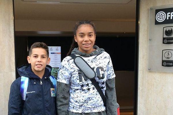 Matteo Brochard et Mayana Kamodji étaient au Challenge Benjamins 2019 et sont passés par la fédération française.