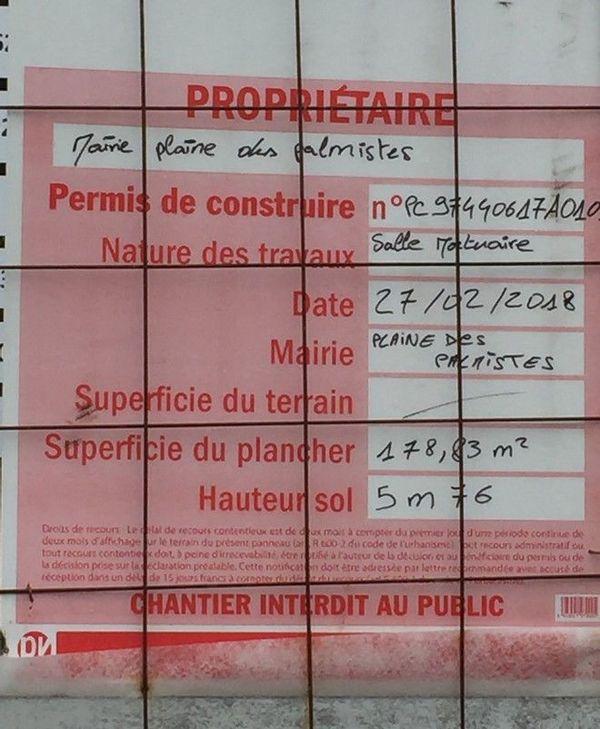 future salle mortuaire Plaine-des-Palmistes collectif riverains 140919