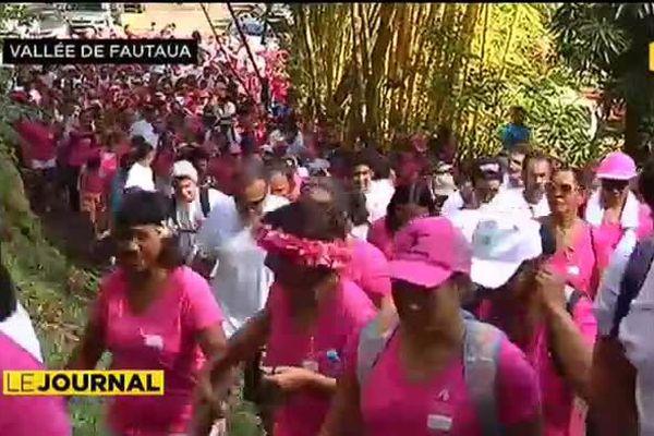 Lutte contre le cancer du sein : dimanche rose à Fautauà