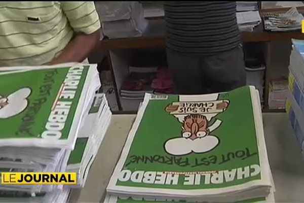 Charlie Hebdo : sitôt arrivé, sitôt vendu