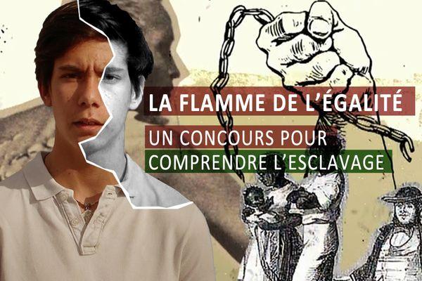 WEBSERIE. La flamme de l'égalité, un concours pour comprendre l'esclavage