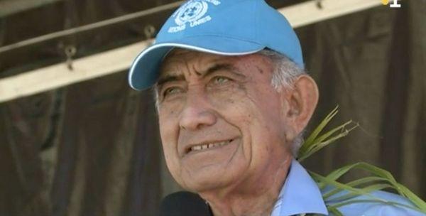 Oscar Temaru en campagne pour le oui à Lifou, 26 octobre 2018