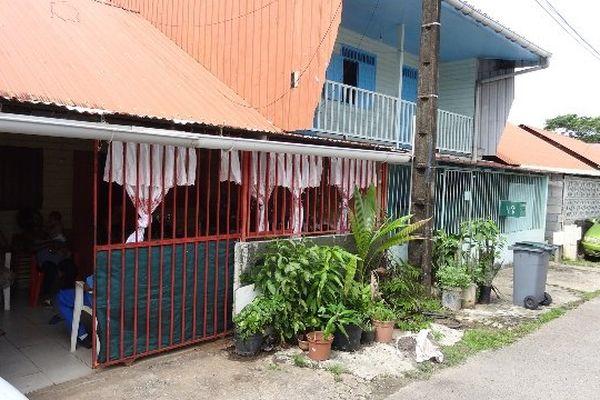 La maison da Silva au quartier de la Mâtine