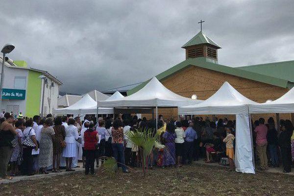 Inauguration Chapelle Rivière-du-Mât les Hauts Bras Panon 23 06 18