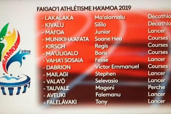 Athlétisme : la sélection de Wallis et Futuna pour les jeux du Pacifique au Samoa est connue