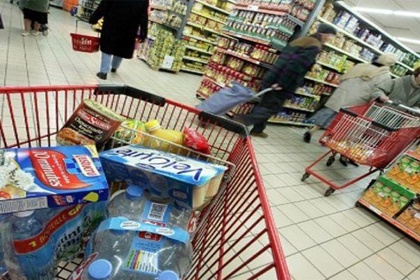 supermarché course