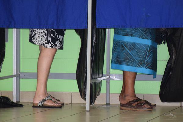 Présidentielle. Election. Isoloir