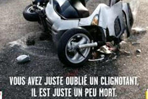 70% des accidents mortels impliquent un deux roues