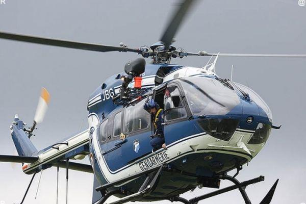 Hélicoptère PGHM gendarmerie