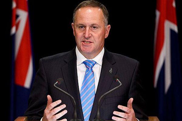 John Key, le premier ministre NZ